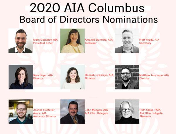2020 board nominations