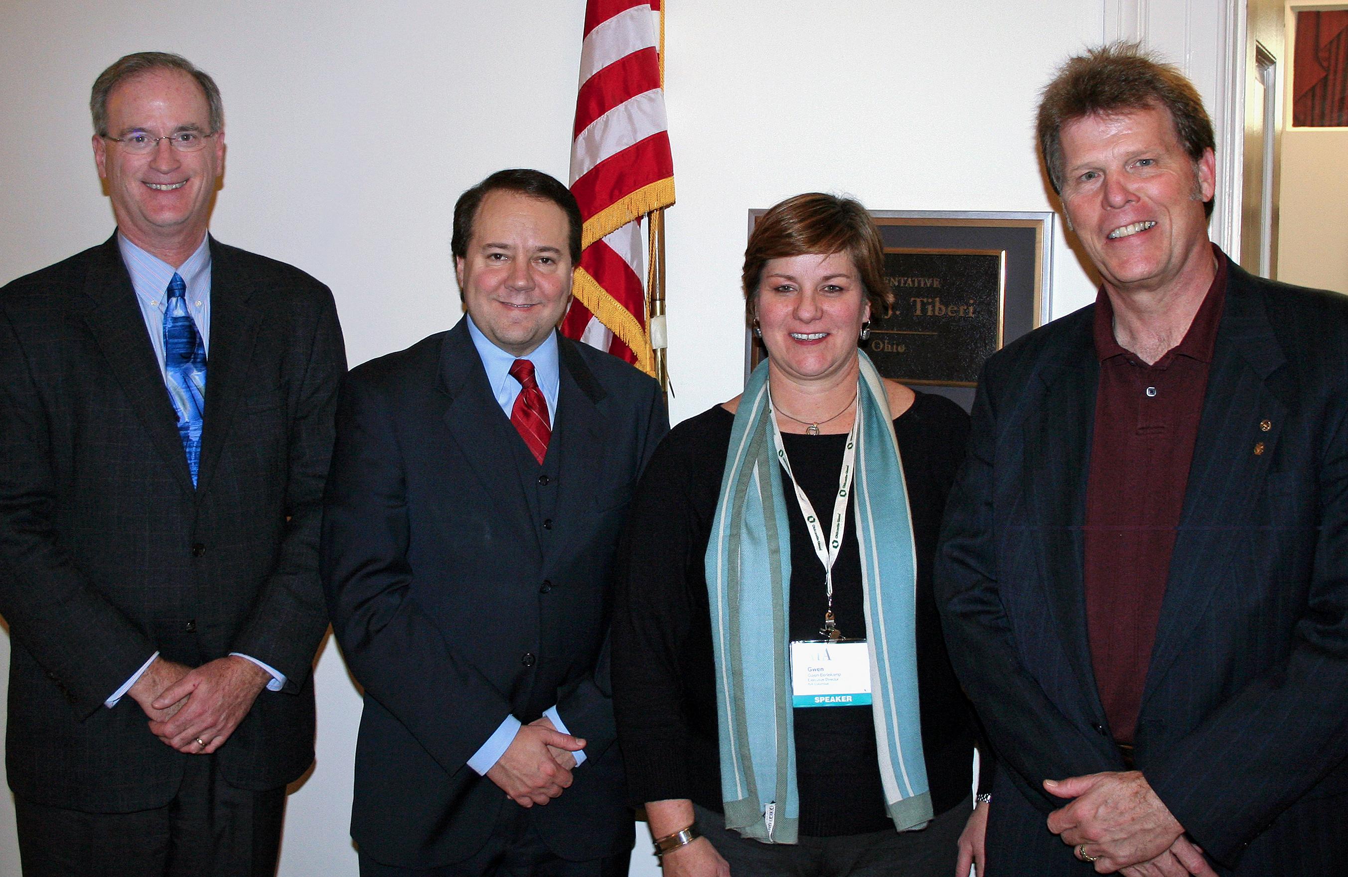 With Representative Pat Tiber (R-OH)