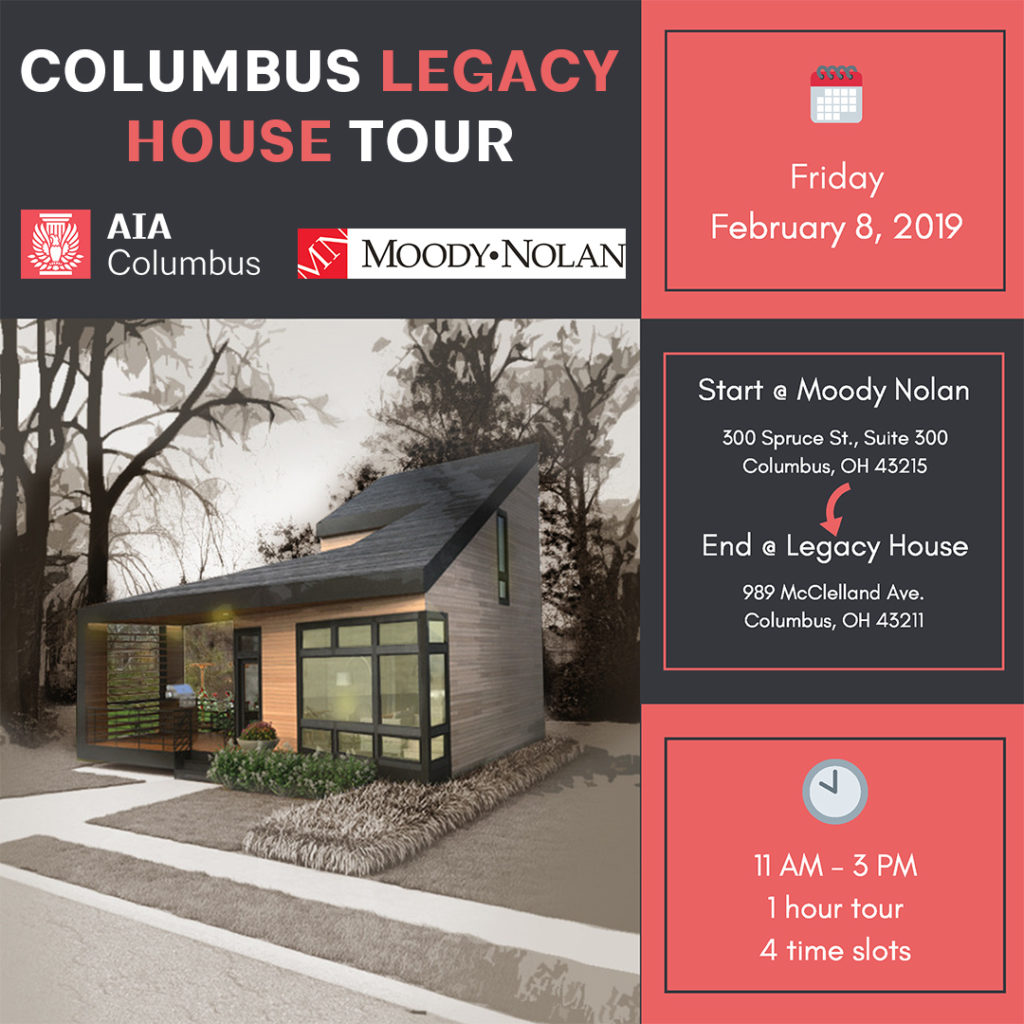 2Columbus Legacy house tour FLYER