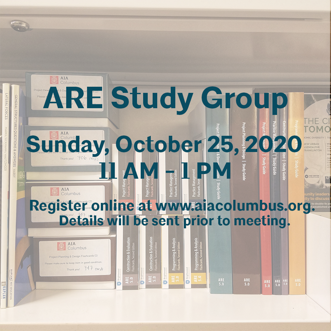 ARE Study Group Flyer Oct 25 2020