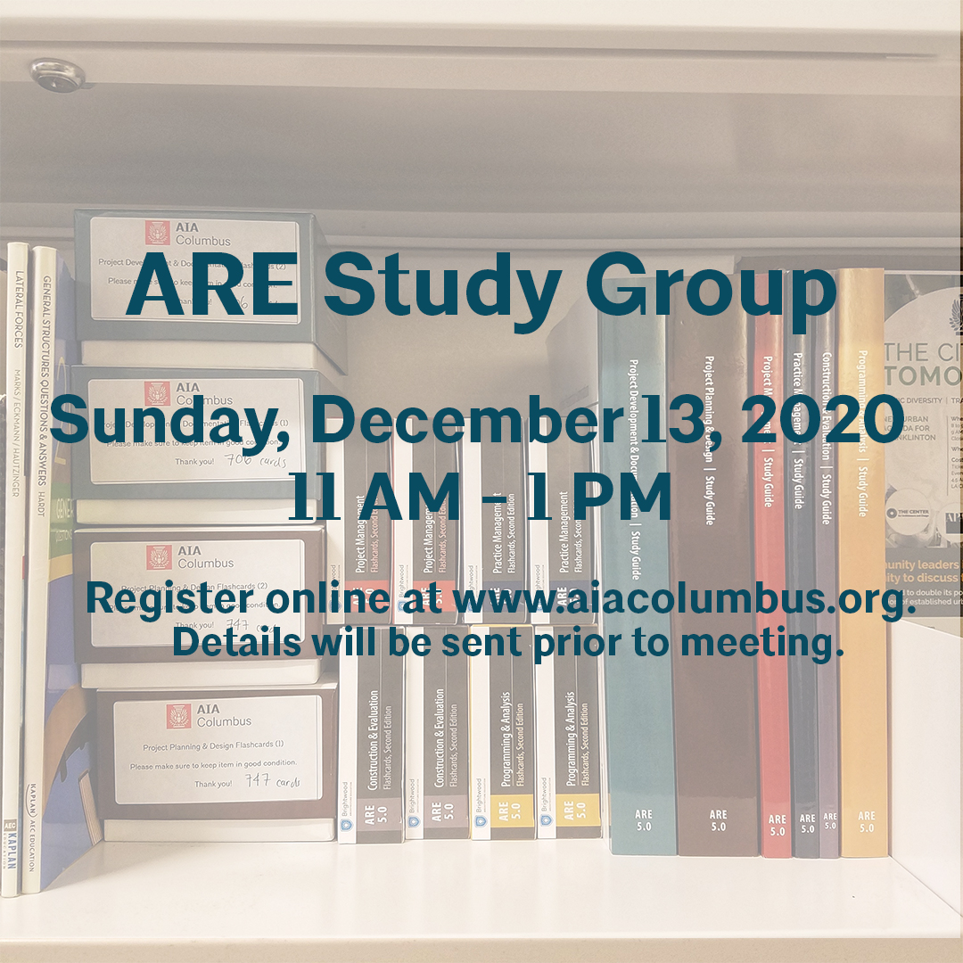 ARE Study Group Flyer December 13