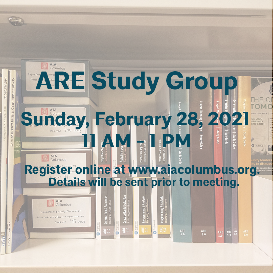ARE Study Group Flyer 2-28-21