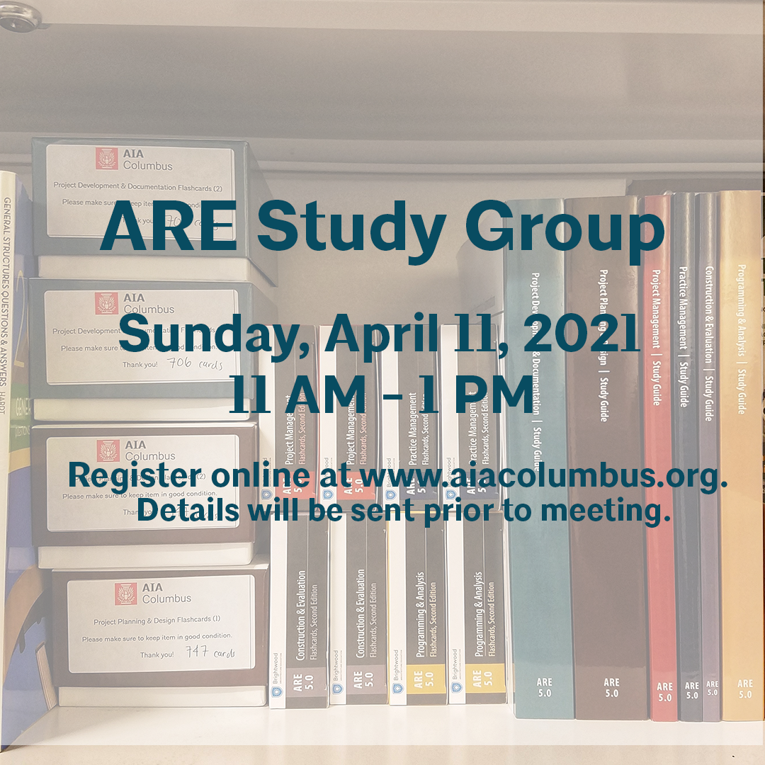 ARE Study Group Flyer 4-11-21