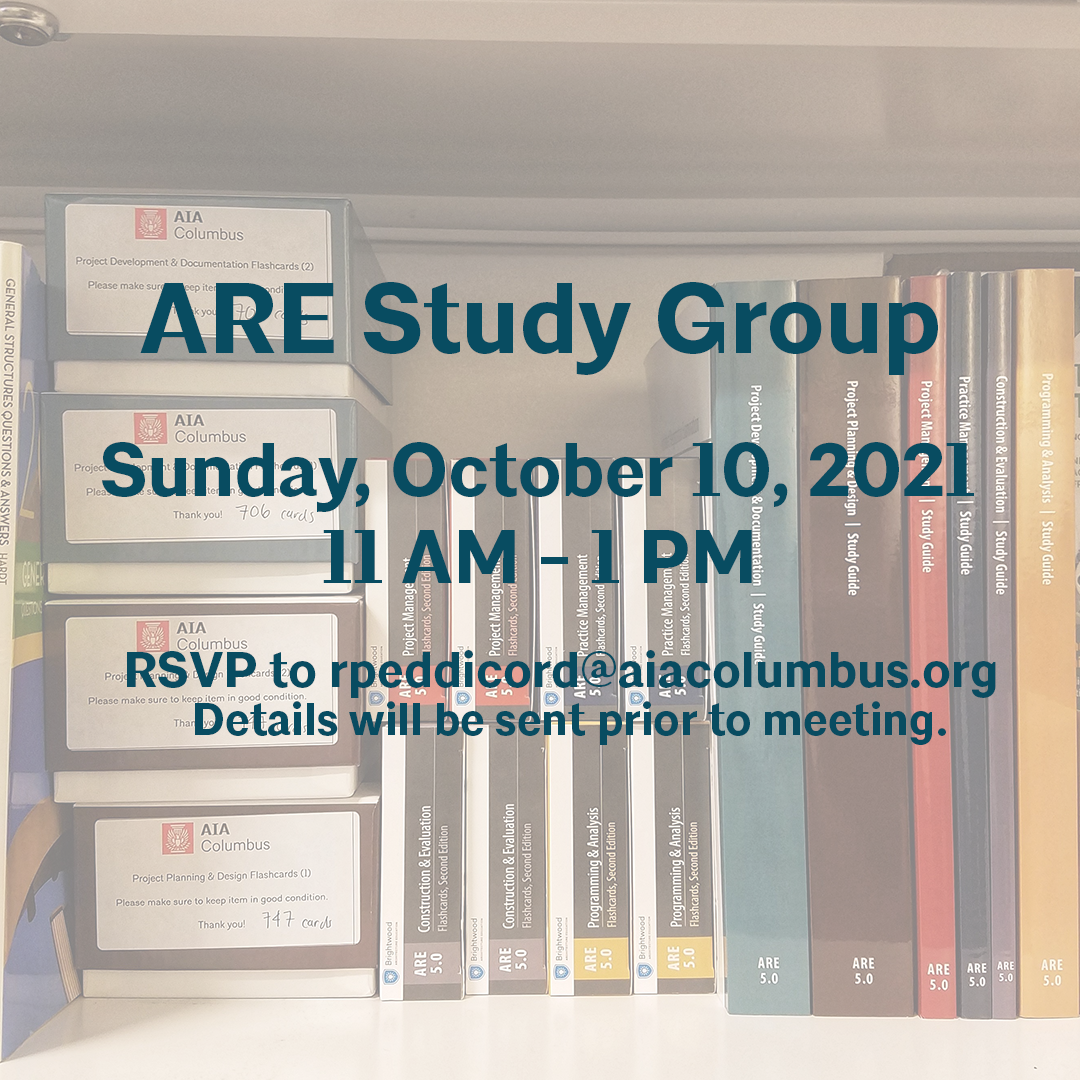ARE Study Group Flyer 10-10-21